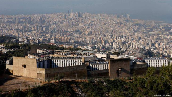 Keimzelle und Rekrutierungsort für Terror: das Gefängnis in Roumieh; Foto: Reuters