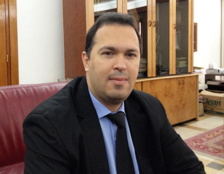Gouverneur von Kasserine. Foto: Beat Stauffer