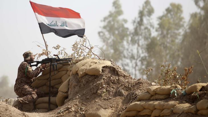Irakische Truppen starten Gegenangriff auf Ramadi; Foto: M. Sawaf/AFP/Getty Images