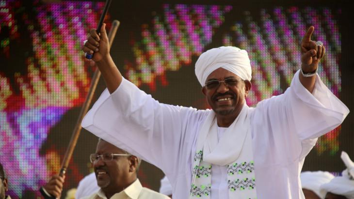 Sudanesischer Präsident Omar al-Baschir; Foto: Ashraf Shazly/AFP/Getty Images
