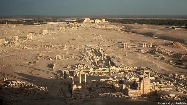 Die antiken Stätten von Palmyra; Foto: dpa/picture-alliance