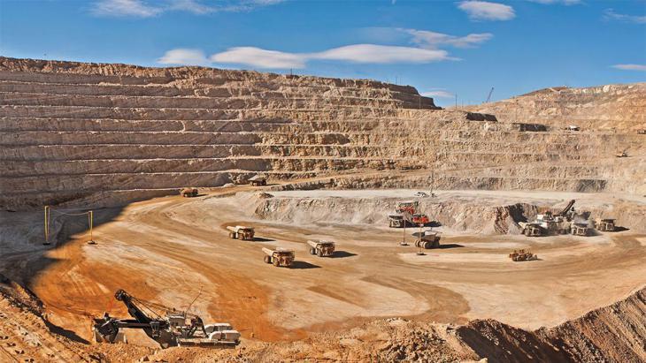 Goldmine in Belutschistan, Pakistan. Foto: DW/ G. Kakar