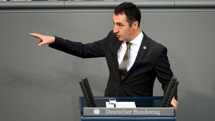 Grünen-Chef Cem Özdemir; Foto: John Macdougall/AFP/Getty Images