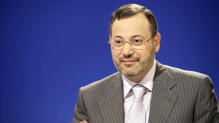 Al-Dschasira-Journalist Ahmed Mansour, Foto: picture-alliance/dpa/Al-Dschasira