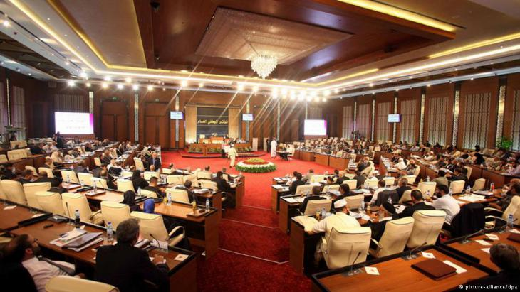 Parlament in Tripolis; Foto: dpa/picture-alliance