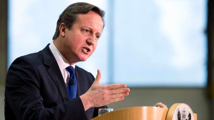 Großbritanniens Premier David Cameron; Foto: Reuters/O. Scarff