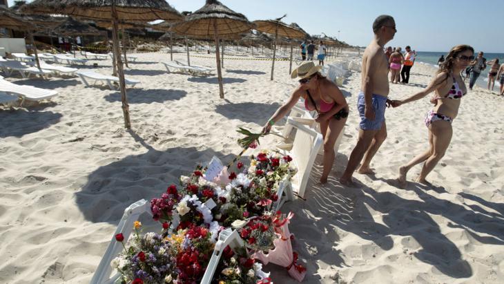 Nach Dem Attentat Von Sousse Geschlossen Gegen Den Terror