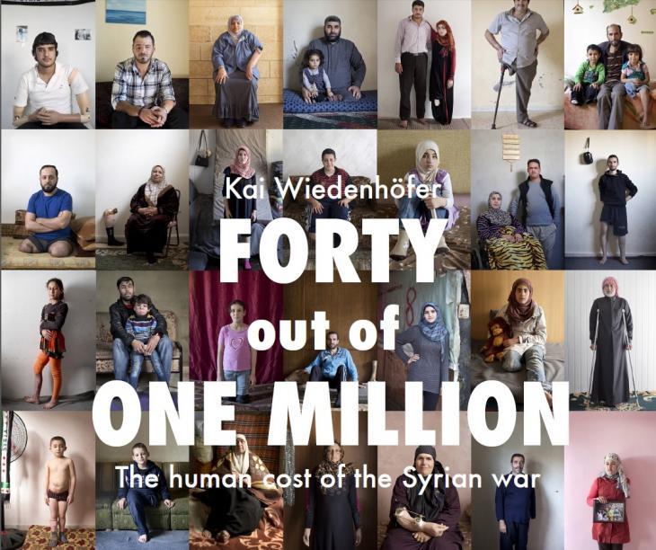 """Cover """"Forty out of One Million"""" von Kai Widenhöfer; Quelle: Kai Wiedenhöfer"""