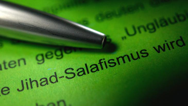 Symbolbild Salafismus in Deutschland; Foto: picture-alliance/dpa/M. Murat