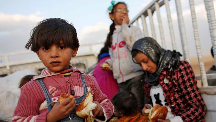 Syrische Flüchtlinge bei Suruc, Türkei, Foto: Reuters/Murad Sezer