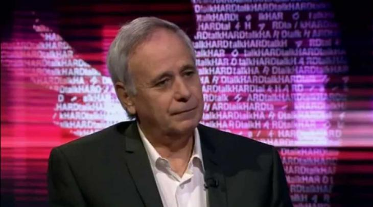"Ilan Pappé, Sendungsmitschnitt BBC ""Hardtalk"", Quelle: youtube"