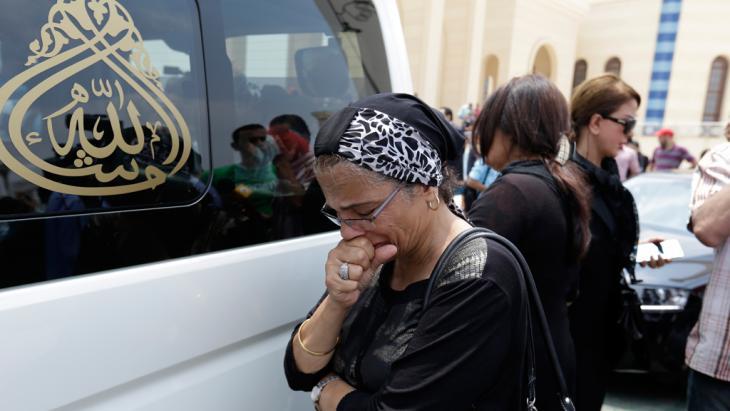 Beisetzungszeremonie Omar Sharifs in Kairo, Foto: picture-alliance/AP Photo/H. Ammar
