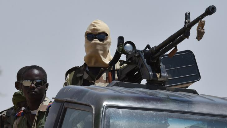 Soldaten in Nigeria. Foto: Getty Images/AFP/I. Sanogo