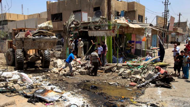 Anschlag in schiitischem Viertel in Bagdad. Foto: picture-alliance/dpa