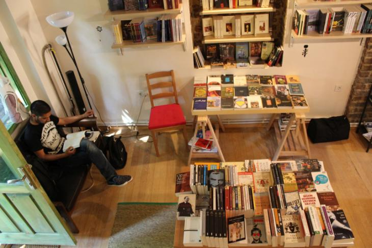 "Buchladen ""Pages"". Foto: Ekrem Güzeldere"
