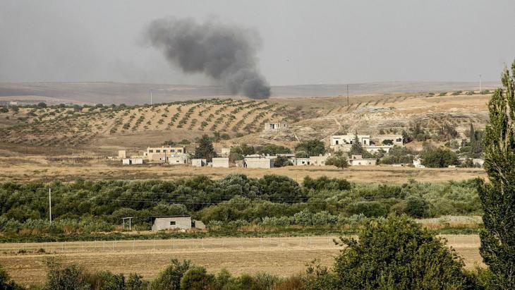 Türkisch-syrisches Grenzgebiet. Foto: picture-alliance/AA