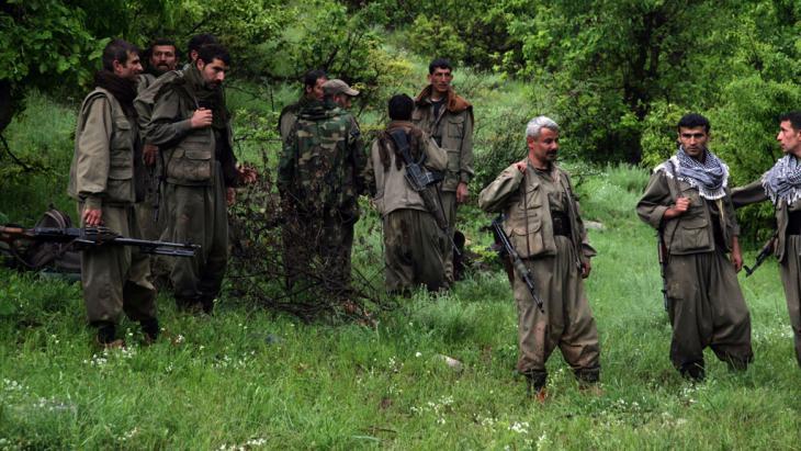 PKK-Kämpfer. Foto: SAFIN HAMED/AFP/Getty Images