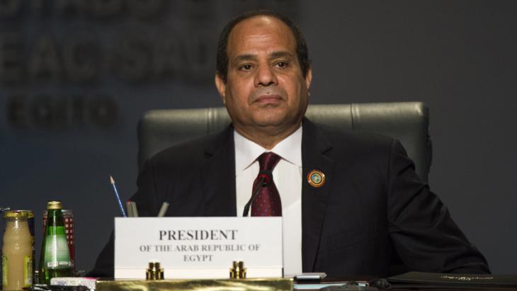 Ägyptens Präsident Abdel Fattah al-Sisi; Foto: Getty Images/Afp/K. Desouki