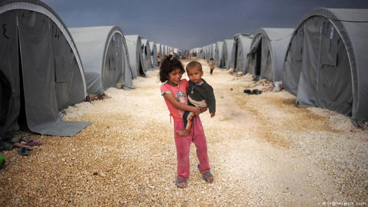 Flüchtlingslager in Suruç; Foto: Getty Images
