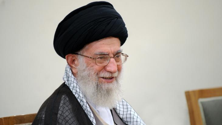 Irans Revolutionsführer Al Khamenei; Foto: Leader.ir