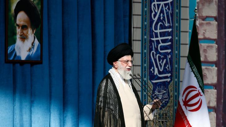 Revolutionsführere Ali Khamenei in Teheran; Foto: Khamenei.ir