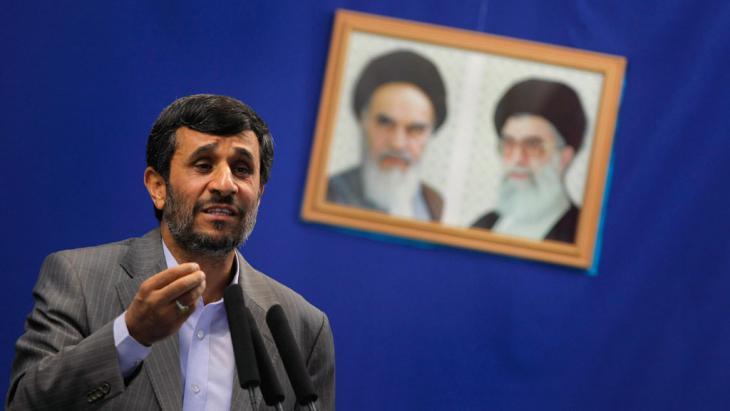 Ex-Präsident Mahmud Ahmadinedschad; Foto: Getty Images/AFP/B. Mehri