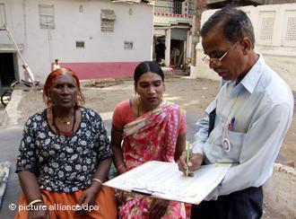 Indien Volkszählung 2011; Foto: dpa/picture-alliance