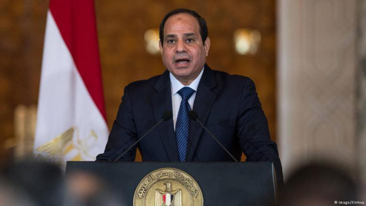 Ägyptens Regierungschef Abdelfattah al-Sisi; Foto: