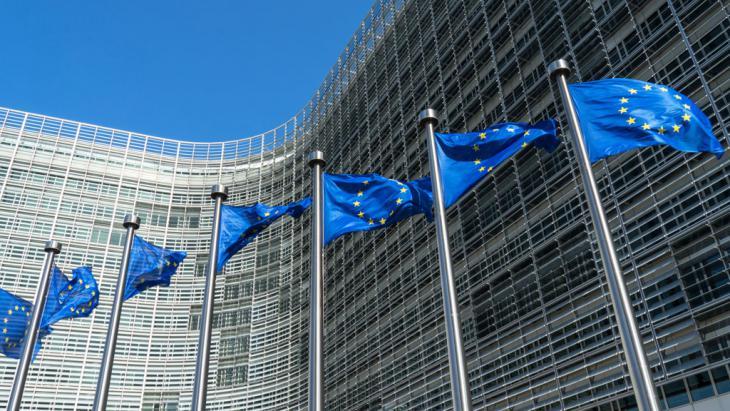 Die Europäische  Kommission in Brüssel; Foto: picture-alliance/dpa/D. Kalker