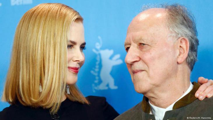 Werner Herzog und Nicole Kidman bei der Berlinale-Premiere; Foto: Reuters