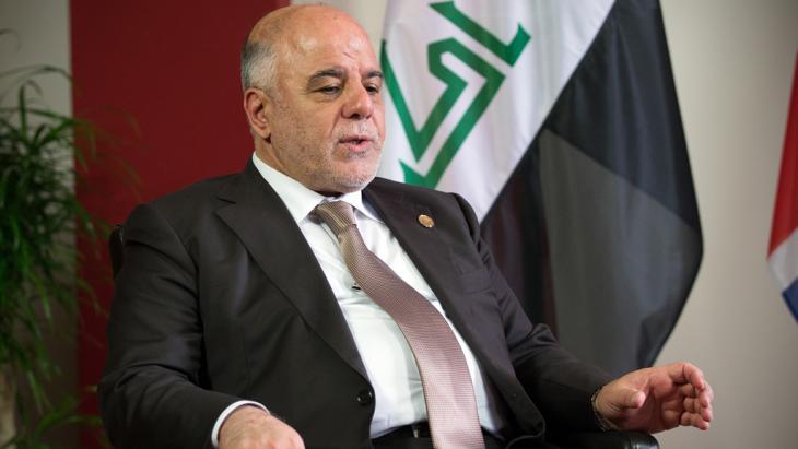 Iraks Regierungschef Haidar al-Abadi; Foto: C.Court/Getty Images