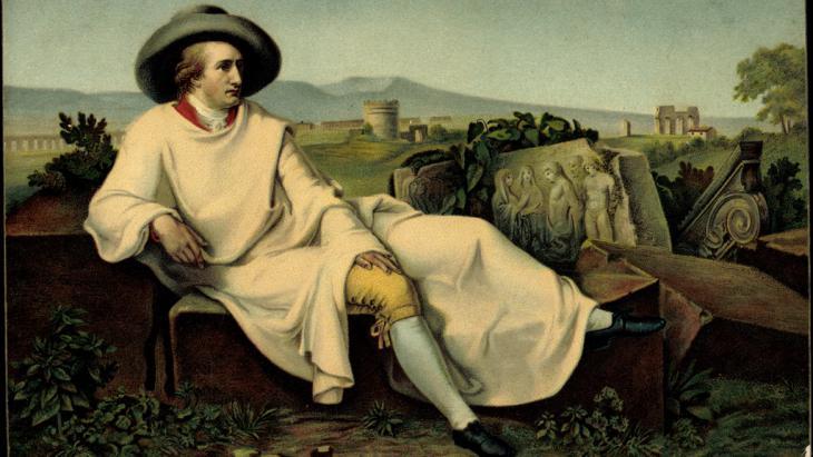 Gemälde Goethe in Italien; Foto: picture-alliance/arkivi UG