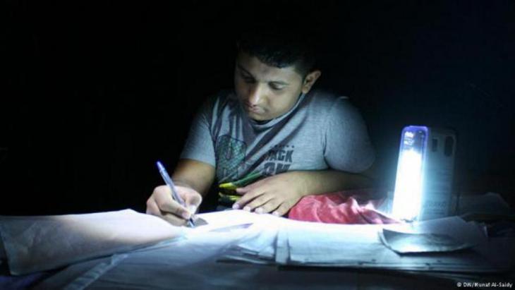Symbolfoto für mangelnde Stromversorgung im Irak. Foto: dw