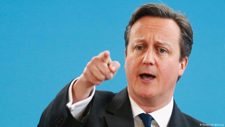 Großbritanniens Premierminister David Cameron; Foto: Reuters