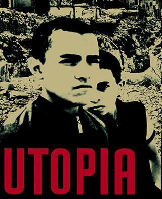 "Buchcover ""Utopia"" von Ahmed Khaled Towfik im Verlag Lenos"