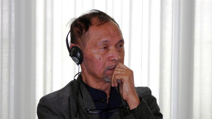 Autor und Publizist Goenawan Mohamad; Foto: DW/Hendra Pasuhuk