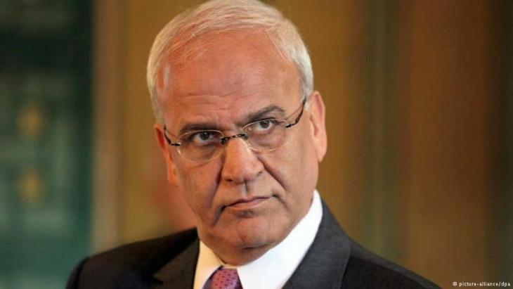 Saeb Erekat; Foto: dpa/picture-alliance