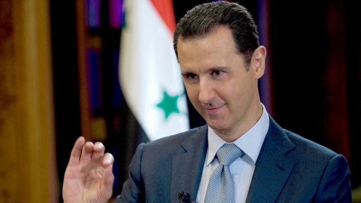 Syriens Präsident Baschar al-Assad; Foto: picture alliance/dpa/Sana Handout