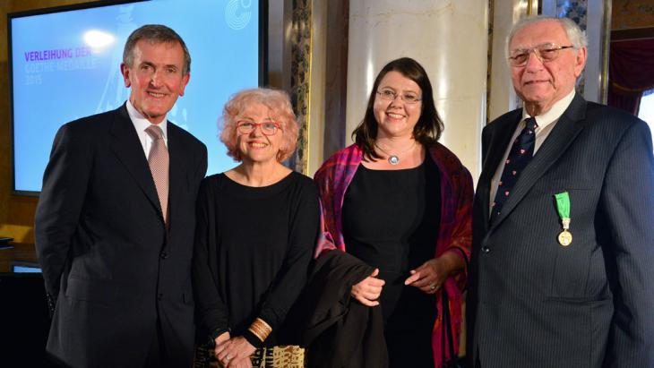 Preisträger der diesjährigen Goethe-Medaille; Foto: picture-alliance/dpa/M. Schutt