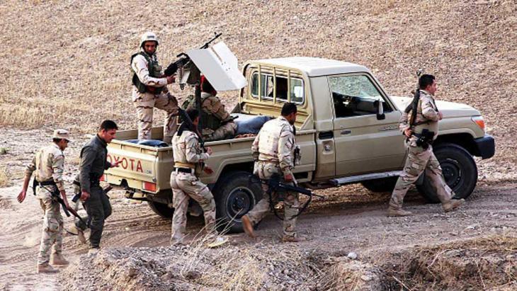 Kurdish Pershmerga at Kirkuk in Iraq (photo: Getty Images)