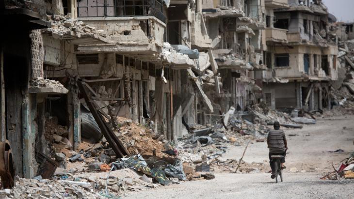 Zerstörtes Homs, Syrien; Foto: Getty Images/AP/D. Vranic