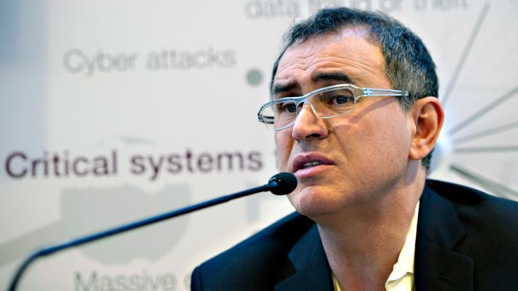 Nouriel Roubini; Foto: dpa/picture-alliance