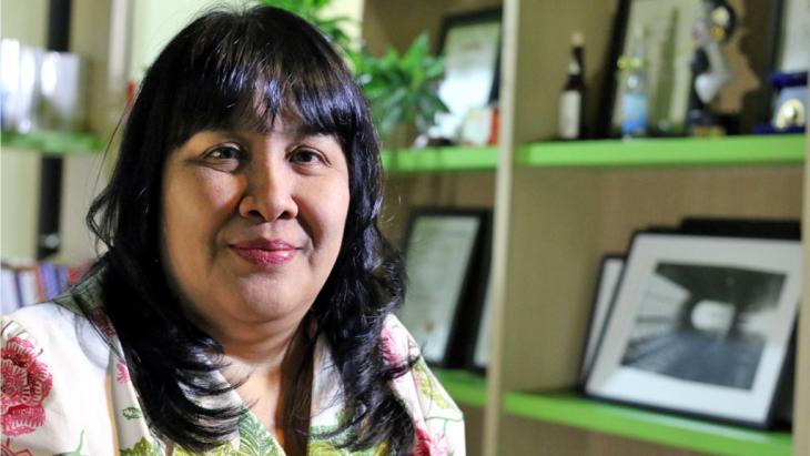 Die indonesische Schriftstellerin Leila Chudori; Foto: GIGABYTE