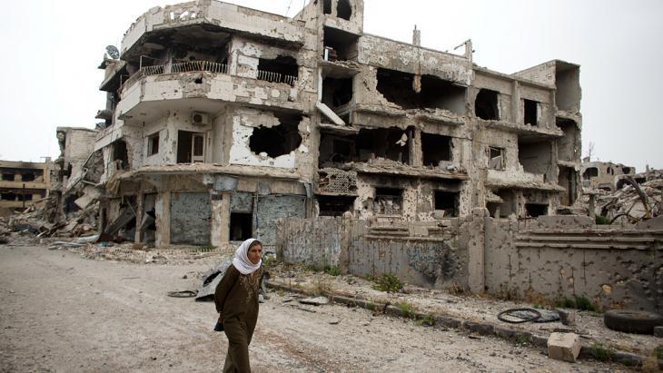Zerstörtes Homs; Foto: Getty Images/AP Photo/D. Vranic