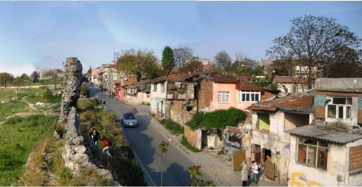Roma-Siedlung Sulukule; Foto: wikipedia