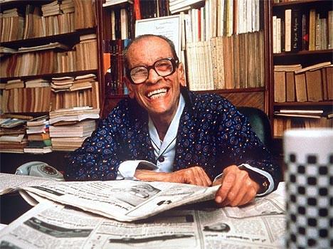Der ägyptische Literatur-Nobelpreisträger Nagib Machfus, Foto: dpa
