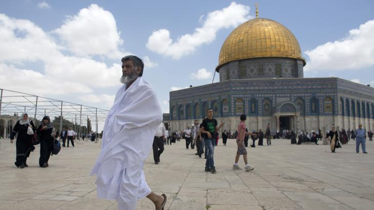 Der Tempelberg in Jerusalem; Foto: AFP/Getty Images/Ahmad Gharabli