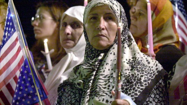 Muslime in den USA; Foto: picture-alliance/dpa/Jeff Kowalsky