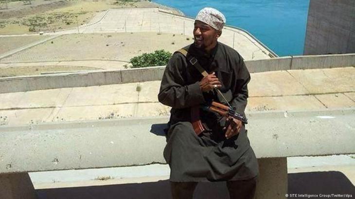 Cuspert in einem IS-Propaganda-Video
