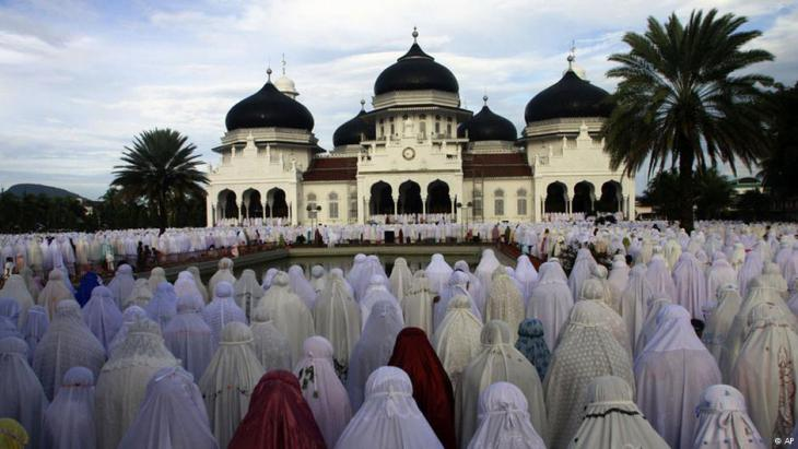 Betende Frauen in Indonesien (Foto: AP)